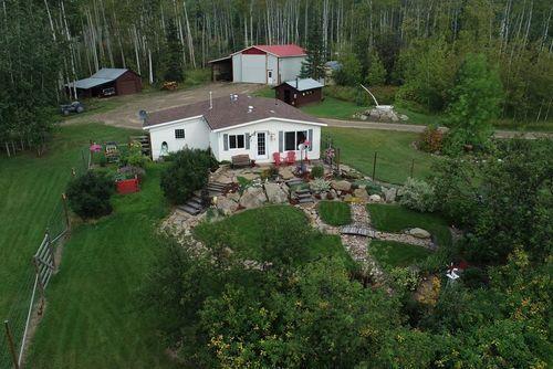 2 Residences and a Shop on a Beautiful 12-Acre Lot Near Farmington (Dawson Creek BC),