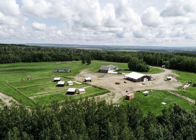 Brand New Custom Horse Lovers Home & Barn Near Tomslake,