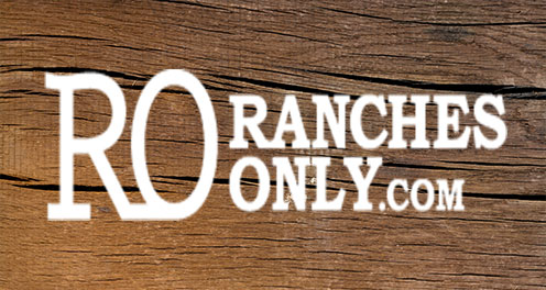 Ranchers Only website logo on wood grain background